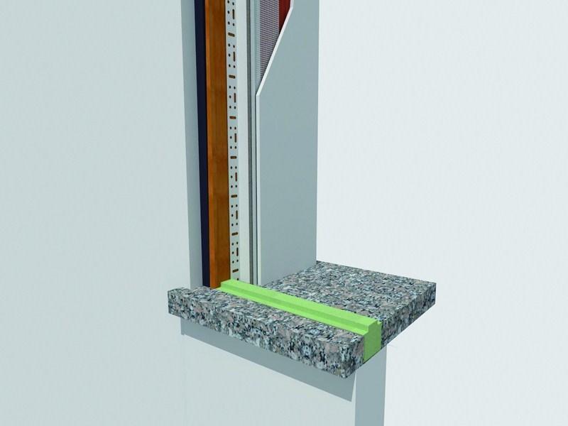Controtelai in legno e pvc prestazioni termiche elevate portesi - Controtelaio finestra pvc ...