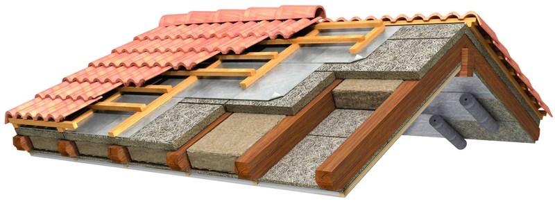 Tetti in legno a brescia portesi produzione e posa di for Tettoia inclinata del tetto