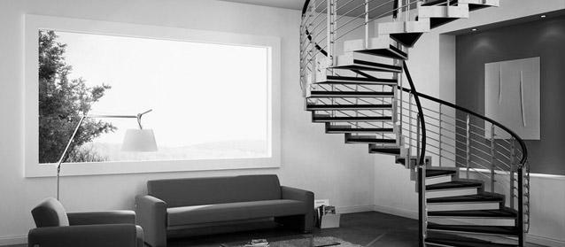Portesi serramenti tetti e strutture in legno pavimenti e scale a brescia - Dimensionamento scale interne ...