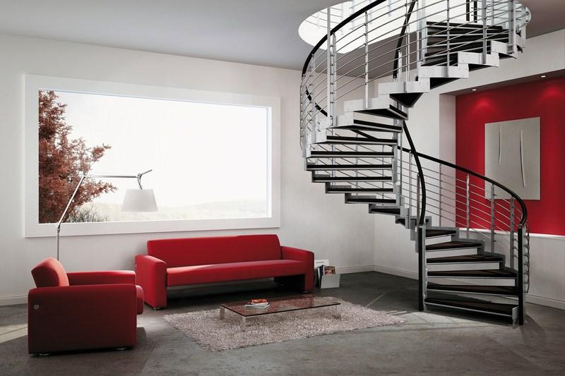 Scale per interni a brescia portesi produzione e posa for Corso per arredatore d interni