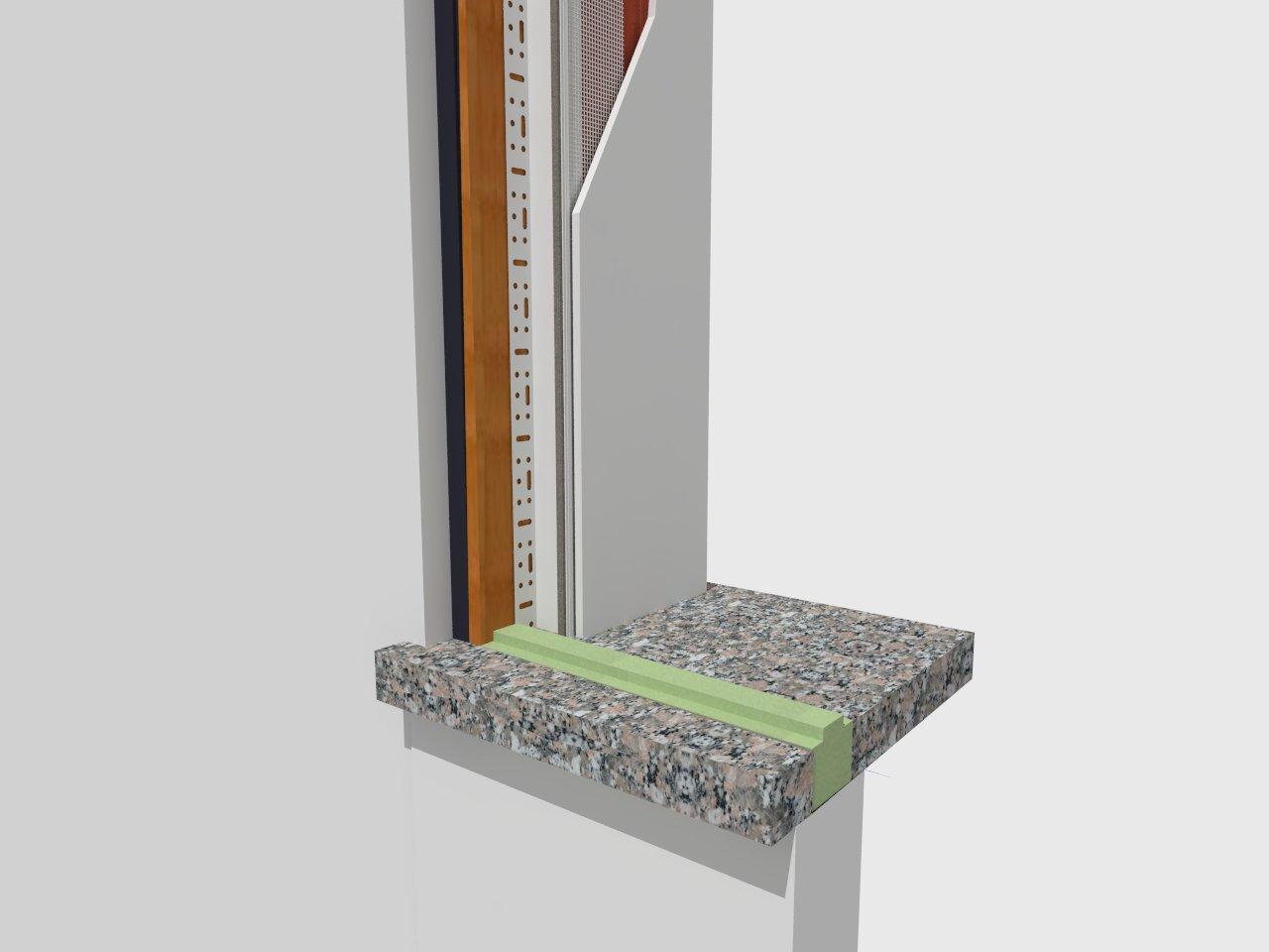 Controtelai in legno e pvc prestazioni termiche elevate for Uniform sistemi per serramenti