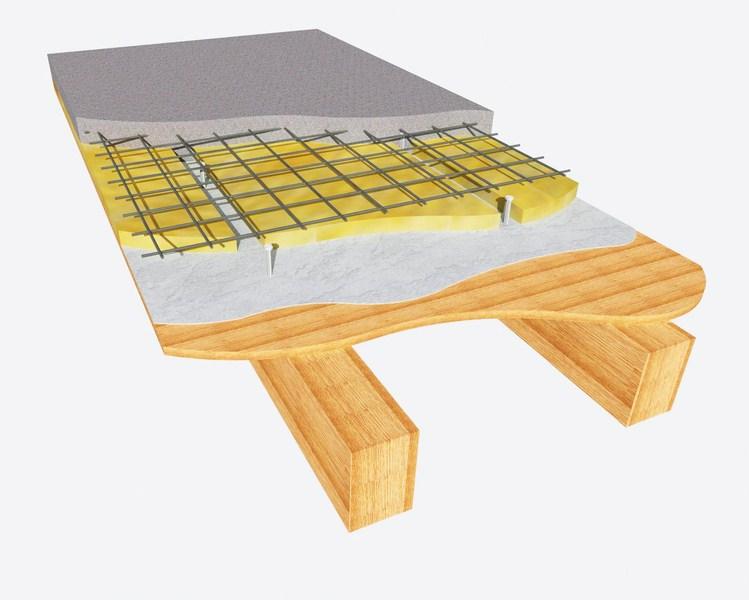 Solaio collaborante in legno